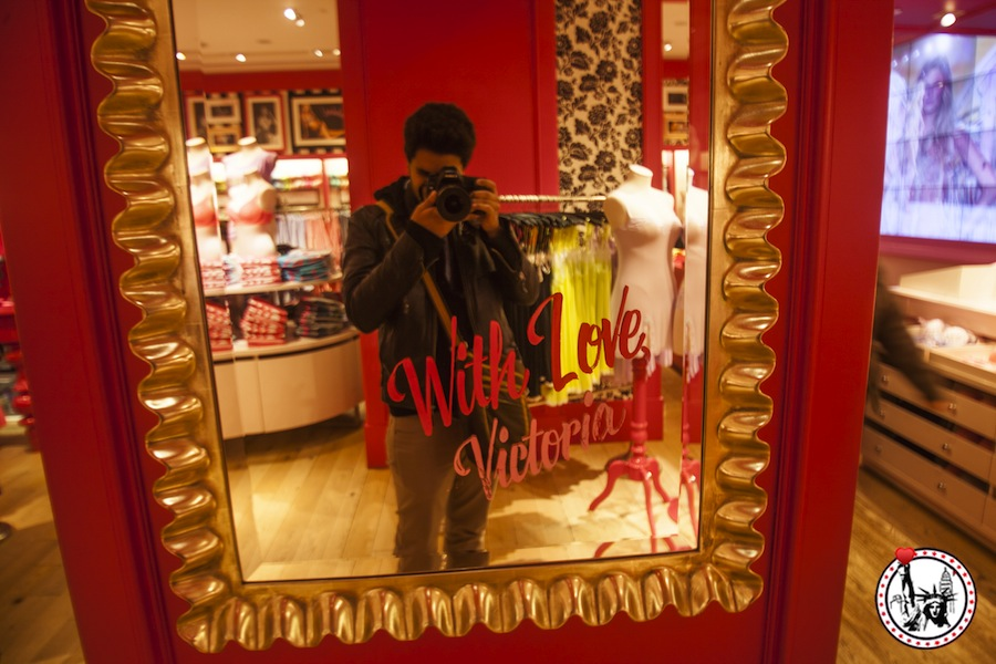 Decouvrez la boutique victoria's secret