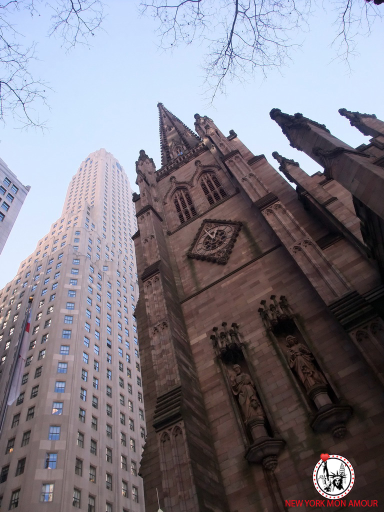 L'eglise de Trinity Church a Wall Street