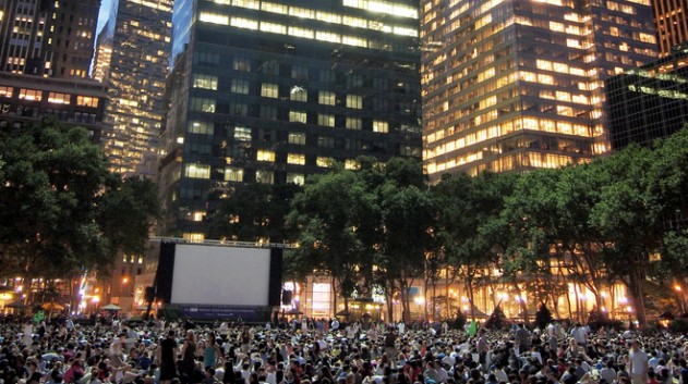 Cinema en plein air a New York: Le Bryant Park Summer Film Festival