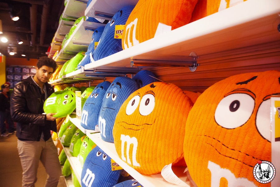 A la découverte de la boutique M&M's de New York