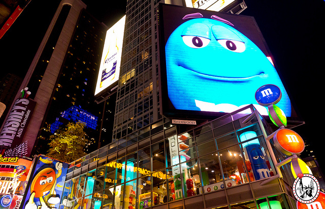 M&M's new york