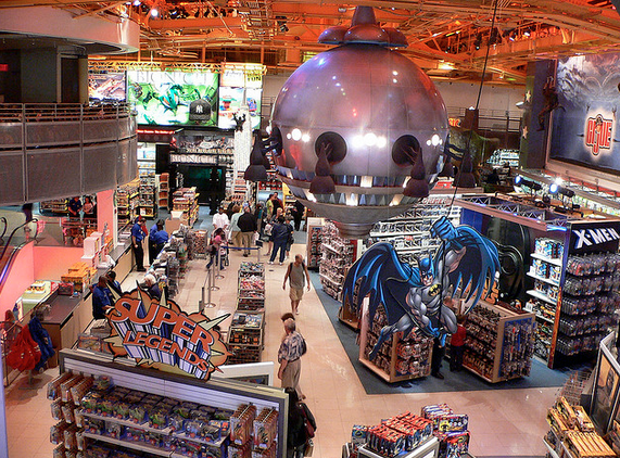 Le magasin Toy R'US de Times Square : un moment magique