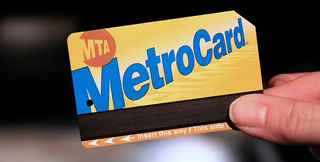 carte metro new york