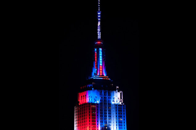 lumieres empire state building