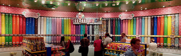 M&Ms times square
