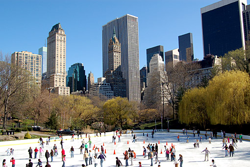 patinoire central park