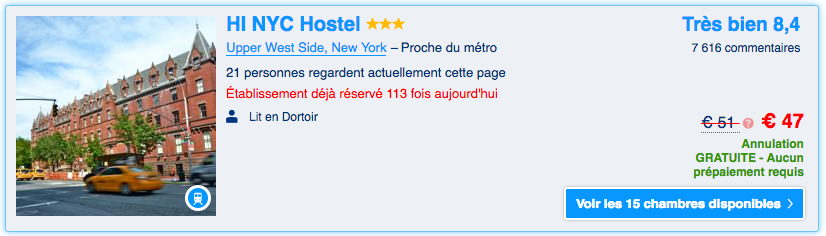 hostelling international new york