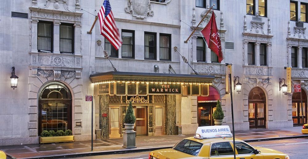 Warwick New York hotel luxe