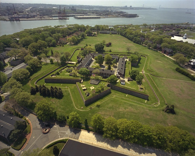 Fort Jay sur Governor Island