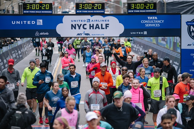 United Airlines Half Marathon-New York