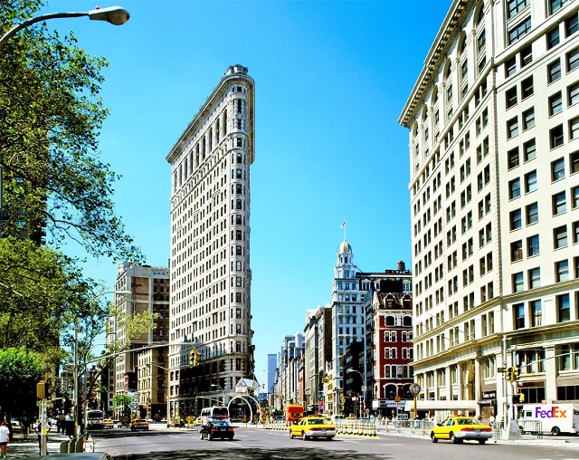 photo du Flatiron Building