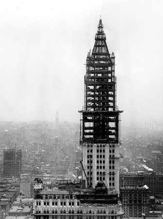 construction du Chrysler Building