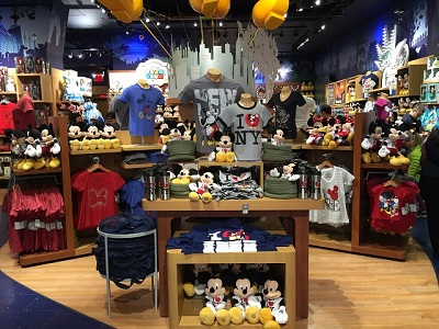 boutique Disney Store sur Times Square