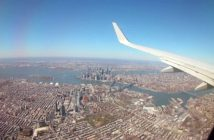 la distance entre Paris et New York