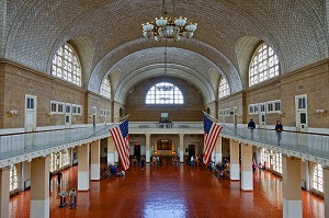 hall du Ellis Island Immigration Museum
